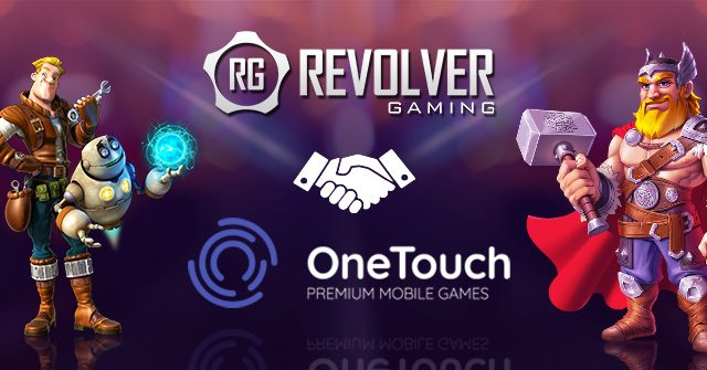 Revolver Gaming adds OneTouch to its Game Aggregation Platform