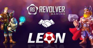 revolver gaming leonbets