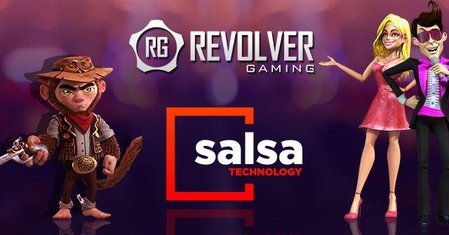 Revolver Gaming & Salsa Technology partner up