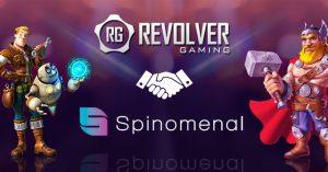 revolver gaming spinomenal partnership