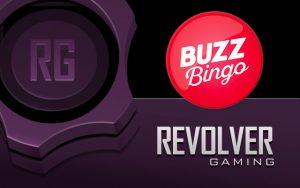 revolver gaming buzz bingo logo