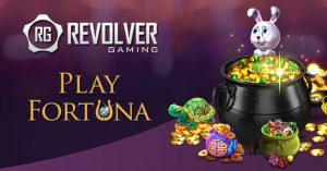 revolver gaming playfortuna logos