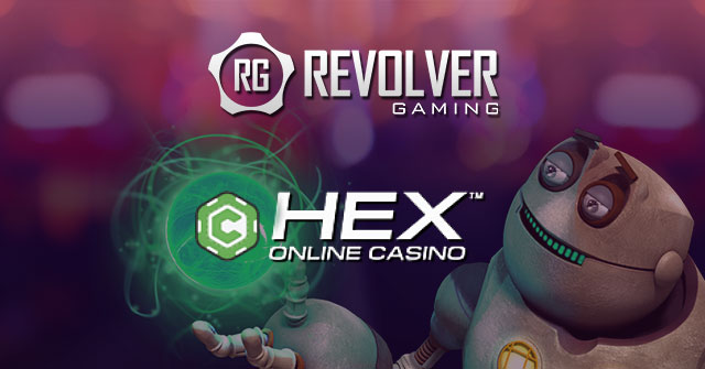 Revolver Gaming and CasinoHEX partner up